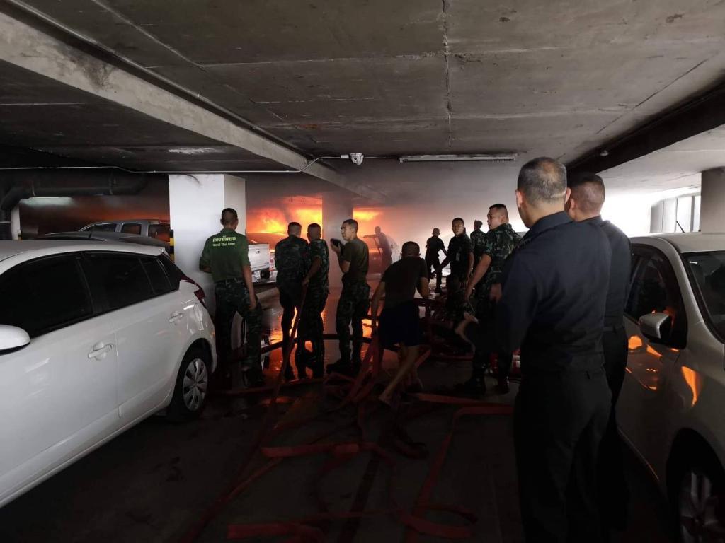 บก.ทบ.ไฟไหม้ลานจอดรถ! โฆษกยันอุบัติเหตุ ไม่ใช่วางเพลิงสร้างสถานการณ์