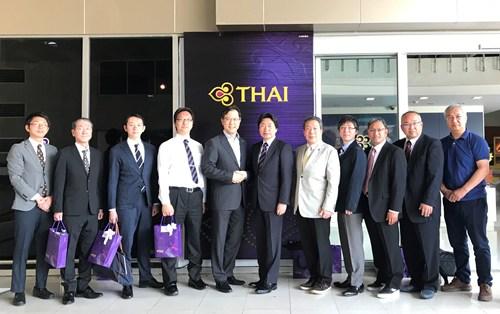 การบินไทยให้การต้อนรับสมาคมธุรกิจการค้าญี่ปุ่น