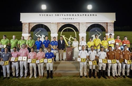"""นักกีฬาขี่ม้าโปโลจากหลากหลายประเทศ ร่วมการแข่งขัน นัดสานสัมพันธ์ รายการ """"VICHAI SRIVADDHANAPRABHA TROPHY"""""""