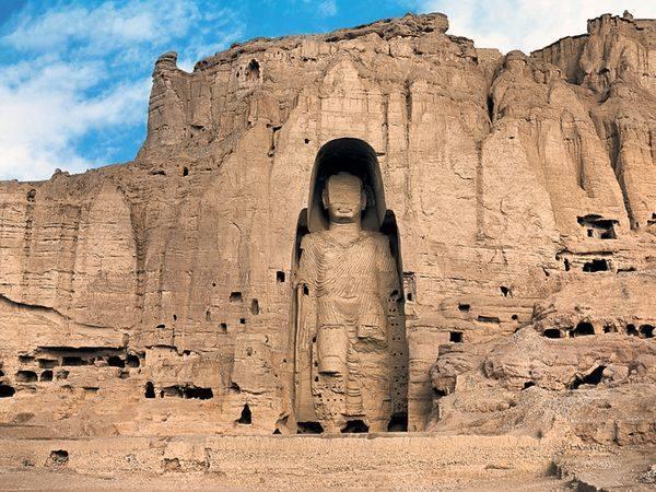 พระพุทธรูปแห่งบามิยัน ที่อัฟกานิสถาน