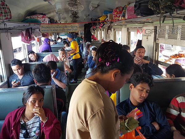 สถานีรถไฟหาดใหญ่เริ่มคึกคัก ประชาชนเดินทางกลับบ้าน-ท่องเที่ยวช่วงสงกรานต์