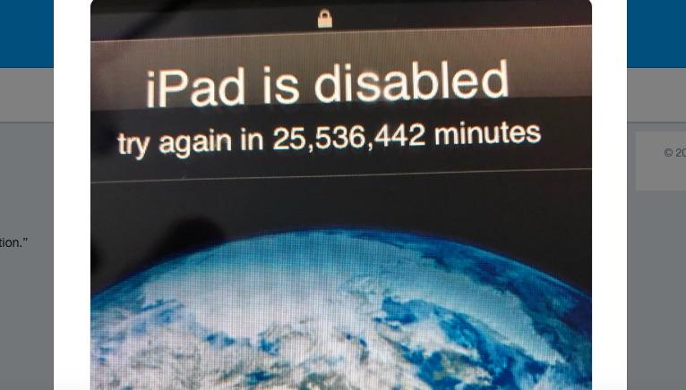 เจ้าหนู 3 ขวบป้อนรหัสผ่านผิดซ้ำ ล็อค iPad ของพ่อจนถึงปี 2067