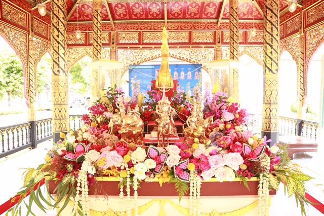 กรมศิลป์บวงสรวงพระธาตุ-เทวดานพเคราะห์ ให้ ปชช.สักการะเป็นสิริมงคลรับปีใหม่ไทย