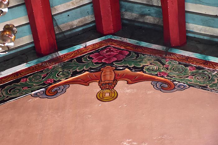 ภาพวาดรูปค้างคาวคาบเหรียญ