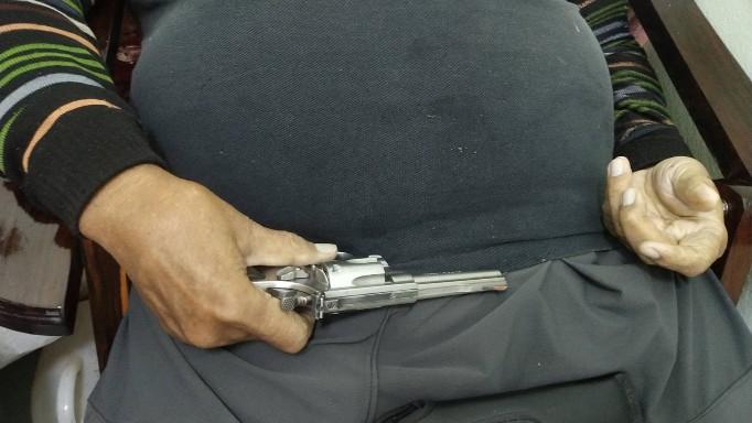 สลด!! พ่อเฒ่าวัย 77  ปี น้อยใจลูกชาย คิดสั้นใช้อาวุธปืนยิงตัวเอง.. ดับ
