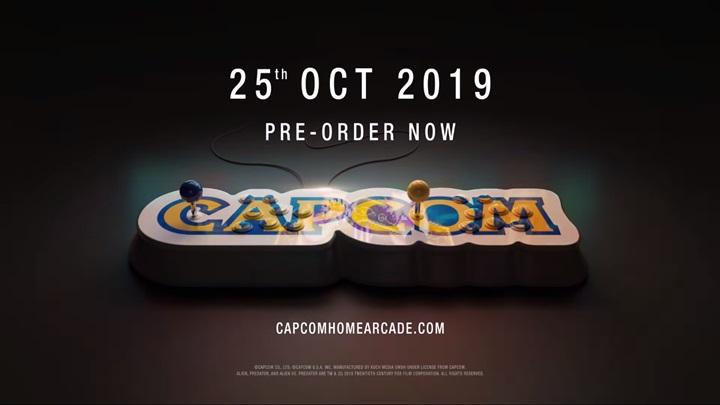 """เปิดตัว """"Capcom Home Arcade"""" จอยคันโยกพร้อมเกม-เสียบทีวีเล่นได้เลย"""