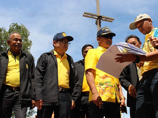 ผู้ตรวจราชการสำนักนายกฯ ลงติดตามโครงการที่ได้รับการจัดสรรงบปี 2561 ที่เบตง