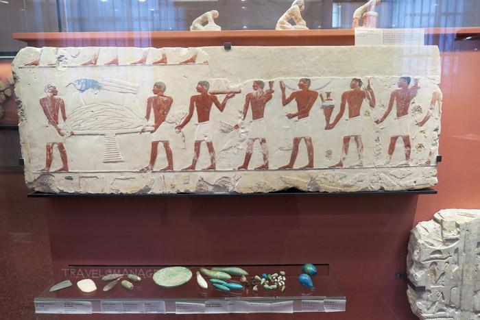 การจัดแสดงในห้องยุคอียิปต์โบราณ