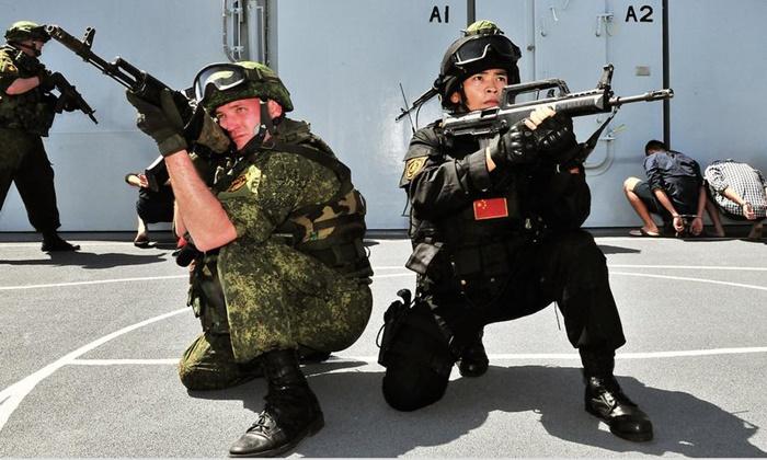ศัตรูร่วมอย่าง'อเมริกา' ทำให้'จีน-รัสเซีย'ยิ่งจับมือเป็นพันธมิตรกันทางนาวี