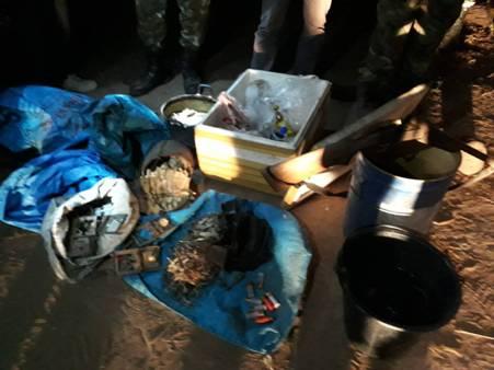 บุกรังพรานป่าเนินมะปราง ลอบล่าสัตว์ อช.ทุ่งแสลงหลวง พบฆ่าเลียงผาต้มกินคาบ้าน