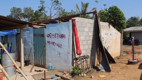 พายุถล่ม 15 หมู่บ้านเมืองราชบุรี เสียหายกว่า 150 หลังคาเรือน