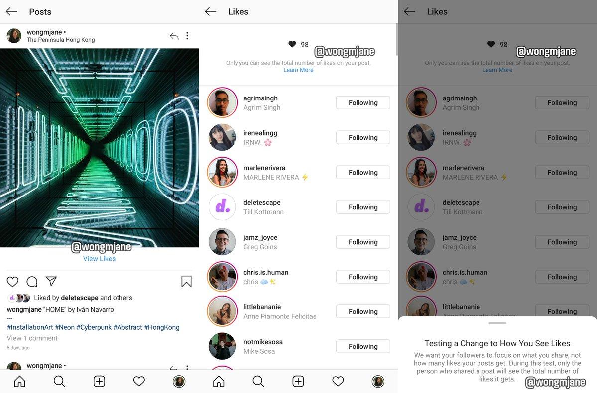 จุดจบ Like? Instagram เดินตาม Twitter เตรียมซ่อนยอด Like ไม่ให้คนทั่วไปเห็น
