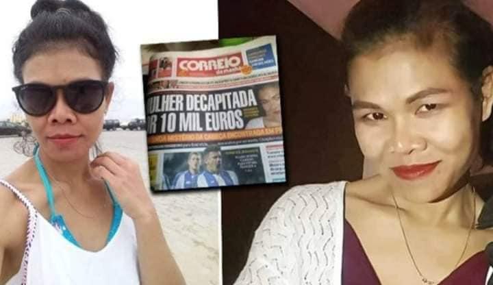 """เผยปมฆ่าตัดหัว """"หมอนวดสาวไทย"""" ในโปรตุเกส เพราะทวงคืนเงิน 1 หมื่นยูโร ลงทุนเปิดร้านกลับใช้ส่วนตัว"""