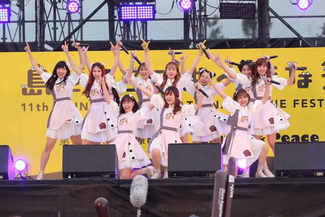 """sweat16!"" เสิร์ฟทุกความสนุก ครบทุกอรรถรส!! นำทัพศิลปินไอดอลโชว์แบบเต็มเหนี่ยว ในงานเทศกาลภาพยนตร์นานาชาติโอกินาวา 2019 ประเทศญี่ปุ่น"