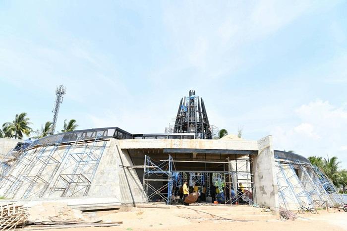 โครงสร้างอาคารพิพิธภัณฑ์สึนามิแห่งแรกในไทยคืบหน้า 80%