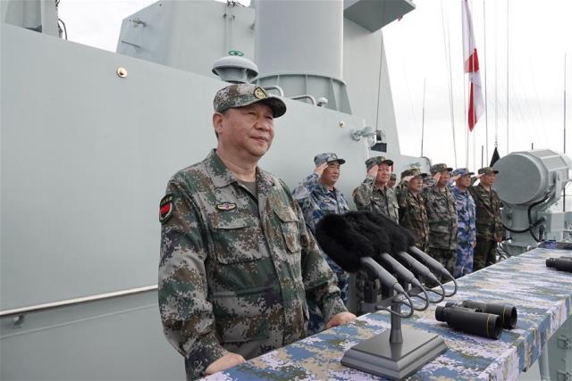 สี จิ้นผิง ระบุ คนจีนรักความสงบ ก่อนเปิดพิธีสวนสนามทางเรือ