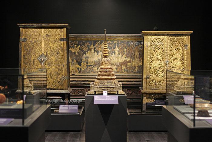 ภายในห้องประวัติศาสตร์โบราณคดี ศิลปะแห่งกรุงรัตนโกสินทร์ตอนต้น