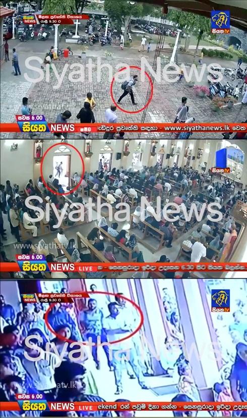เดลีเมล สื่ออังกฤษ ระบุว่า นักการศาสนาอิสลามหัวรุนแรง โมอุลวี ซาฮ์รอน ฮาชิม (Moulvi Zahran Hashim )เป็นบุคคลที่ถูกพบจากกล้องทีวีวงจรปิดลงมือโจมตีโบสถ์เซนต์ เซบาสเตียน วันอาทิตย์(21)