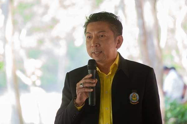 นายสุชาติ กาญจนวิลัย ผู้อำนวยการโครงการชลประทานราชบุรี