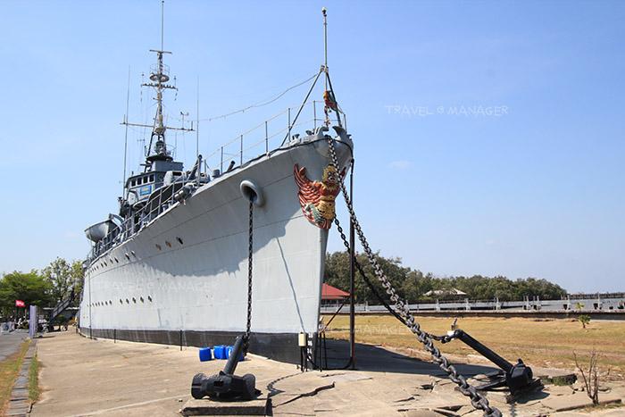เรือรบแม่กลอง ความภาคภูมิใจของกองทัพเรือไทย