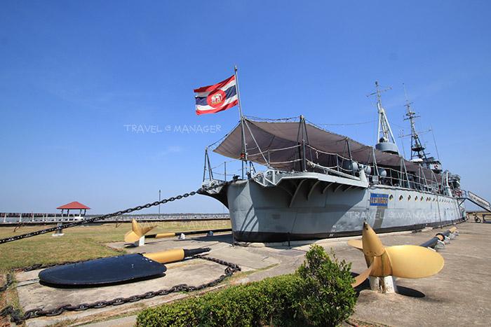 เรือรบเก่าแก่ที่สุดของไทย