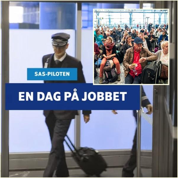 In Clips: นักบินสแกนดิเนเวียนแอร์ไลน์ SAS ผละงานใน 3 ประเทศ กระทบผู้โดยสารร่วม 170,000