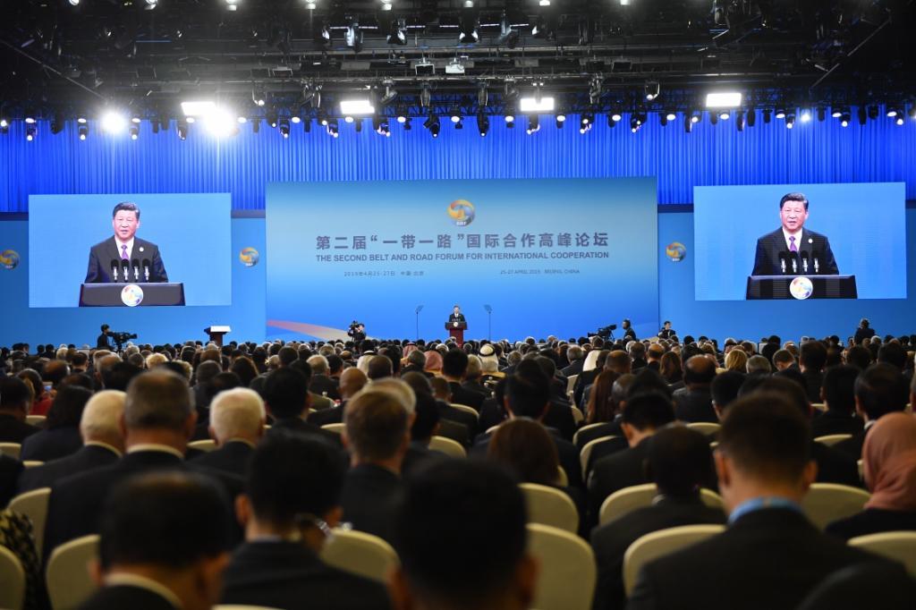 """""""ประยุทธ์"""" กล่าวสุนทรพจน์ที่จีน หนุนยุทธศาสตร์ BRI ย้ำร่วมมือใกล้ชิด-สร้างสรรค์"""