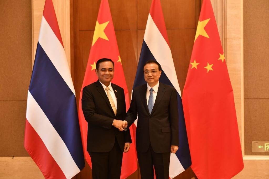 นายกฯไทย-จีน หารือเห็นพ้องEECขับเคลื่อนศก. หนุนสรุปเจรจาRCEPในปีนี้