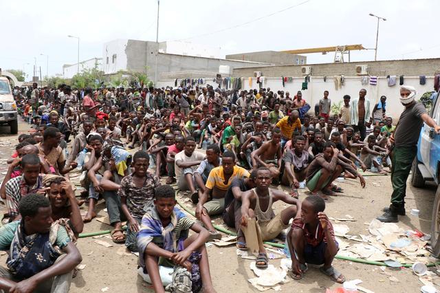เยเมนกวาดต้อนแรงงานเถื่อนหลายพันคนในภาคใต้