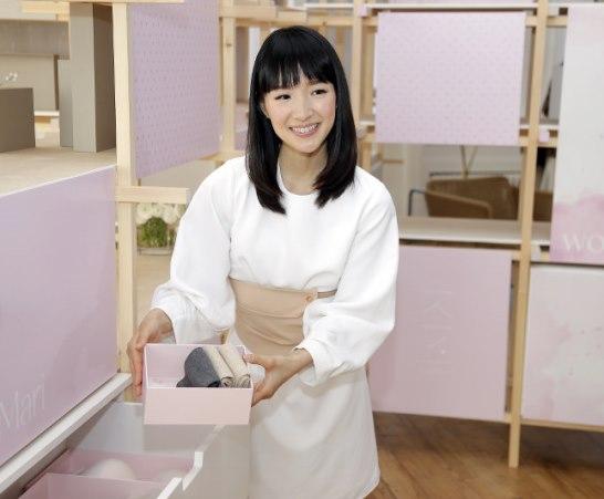 คนโด มาริเอะ สาวญี่ปุ่นผู้โด่งดังจากการสอนวิธีจัดบ้านให้เรียบร้อย