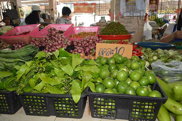 เบตงถูกผลกระทบอากาศร้อน ทำให้ผักบางชนิดขาดตลาดและมีราคาแพงถึง 2 เท่าตัว
