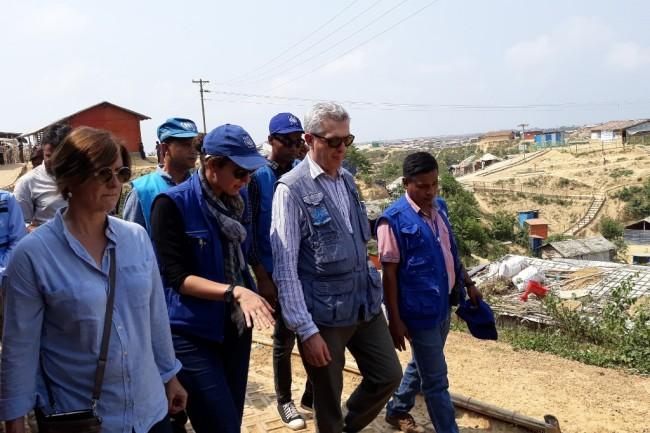 ข้าหลวงใหญ่สหประชาชาติเผยเหตุไม่สงบในรัฐยะไข่กระทบแผนส่งโรฮิงญากลับพม่า