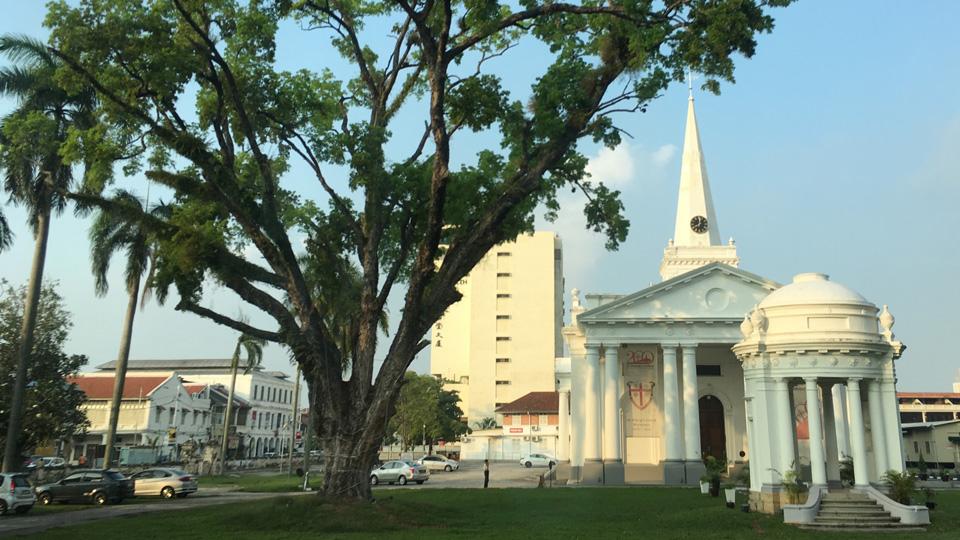 โบสถ์เซนต์จอร์จ ปีนัง (St. Georges Church) เป็นโบสถ์แองกลิกันที่เก่าแก่ที่สุดในเอเชียตะวันออกเฉียงใต้
