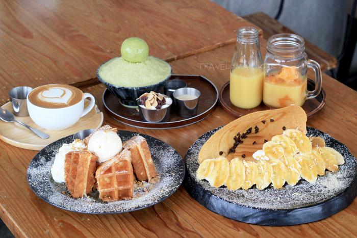 เมนูชวนชิมที่ร้าน Brown Sugar Dessert Café & Bistro