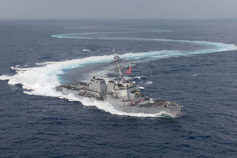 สหรัฐฯ ส่งเรือพิฆาต 2 ลำล่องผ่านช่องแคบไต้หวันยั่วโทสะ 'จีน' อีกรอบ
