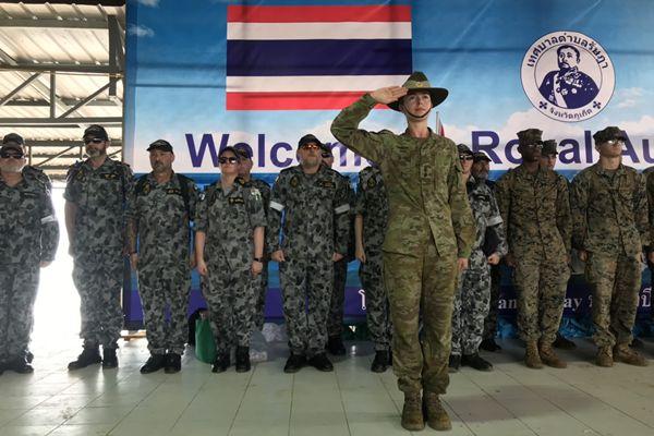 """ทต.รัษฎา ร่วมกับ กองทัพเรือออสเตรเลีย และสถานกงสุลออสเตรเลียจัด""""Big Cleaning Day"""""""