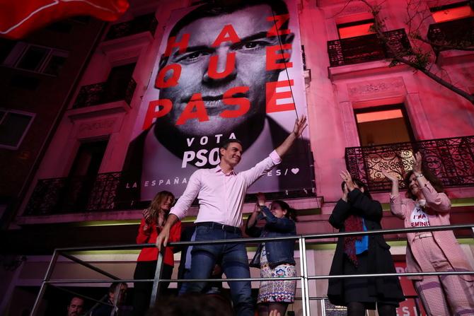 รบ.ฝ่ายซ้ายเฮชนะที่1เลือกตั้งสเปน แต่ได้ที่นั่งไม่ถึงครึ่ง-คาดตั้งรบ.ยังยืดเยื้อ