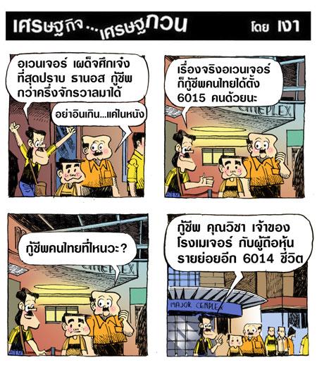 อเวนเจอร์กู้ชีพคนไทย6015คน