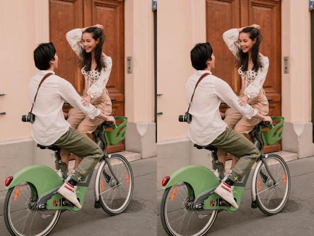 """จัดให้ตามคำขอ""""ญาญ่า"""" โพสต์รูปคู่ """"ณเดชน์"""" ที่ฝรั่งเศส ปั่นจักรยานท่ายาก"""