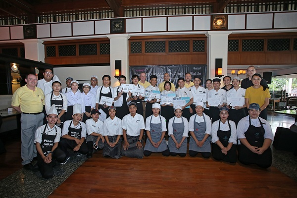 """24 เชฟรุ่นเยาว์ ร่วมแข่งขัน """"Marriott Junior Chefs Cooking Battle"""" สานฝันอาชีพและก้าวหน้าไปกับแมริออท"""