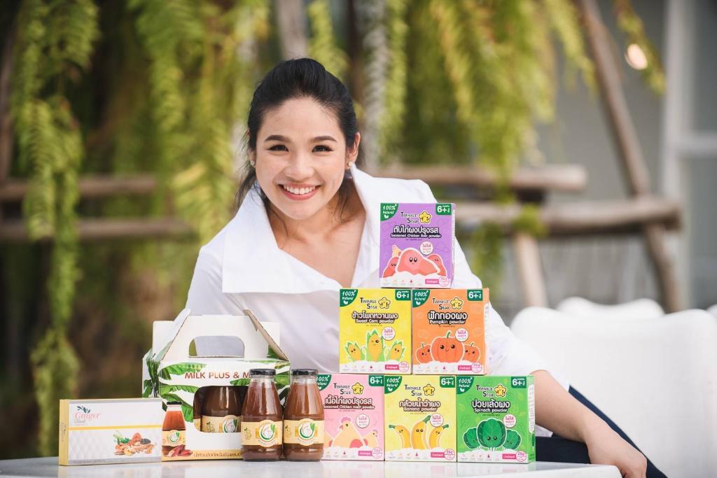 ศราณี วิสุทธิผล เจ้าของผลิตภัณฑ์น้ำหัวปลี Milk Plus&More