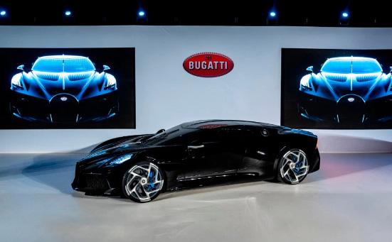 Bugatti Voiture Noire hypercar สนนราคา 10 ล้านปอนด์