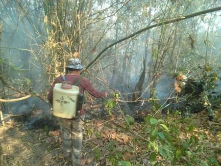 มทภ.3 สั่งคุมเข้มอีกรอบ หลังสิ้นสุดห้ามเผาไฟป่าโผล่ตรึม-หมอกควันฝุ่นพิษคลุมเมืองซ้ำ