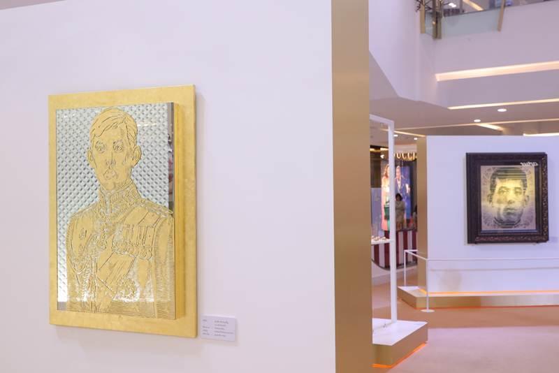 """""""ใต้ร่มพระบารมี สดุดีจอมราชา"""" นิทรรศการศิลปกรรมร่วมสมัย เฉลิมพระเกียรติในหลวงรัชกาลที่ ๑๐"""