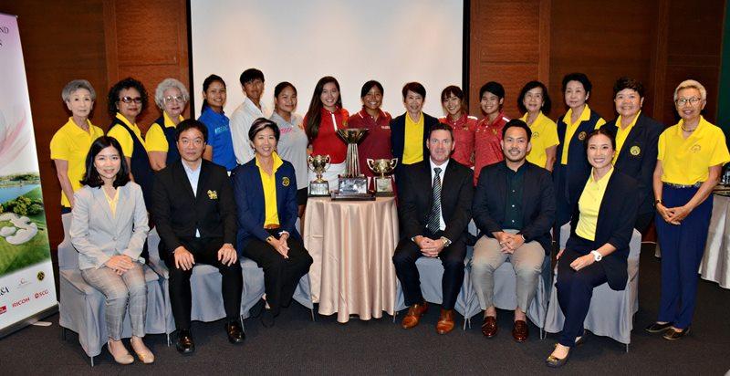 12 ชาติ ร่วมชิงชัยกอล์ฟสตรีโอเพ่นสตรีแห่งประเทศไทย