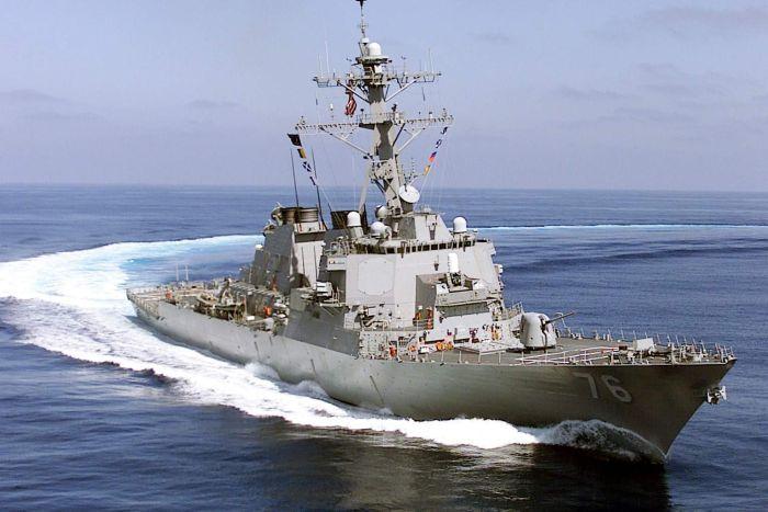 สหรัฐฯ ส่งเรือรบ 2 ลำแล่นเย้ยอำนาจปักกิ่งในทะเลจีนใต้