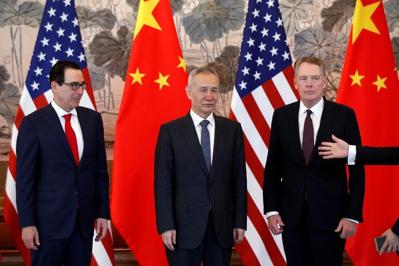 รองนายกฯจีนเตรียมนำทีมถกวอชิงตัน มะกันเล็งขึ้นภาษีตอบโต้ปักกิ่งพลิกลิ้น