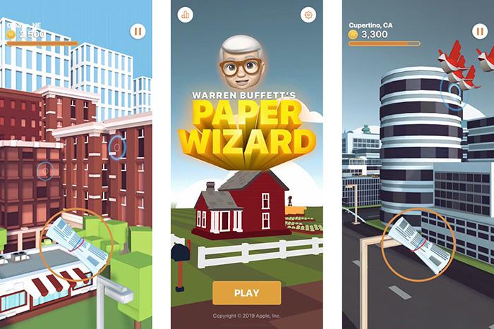 """เกม """"วอร์เรน บัฟเฟตต์"""" ส่งหนังสือพิมพ์ลง iOS แล้ว"""