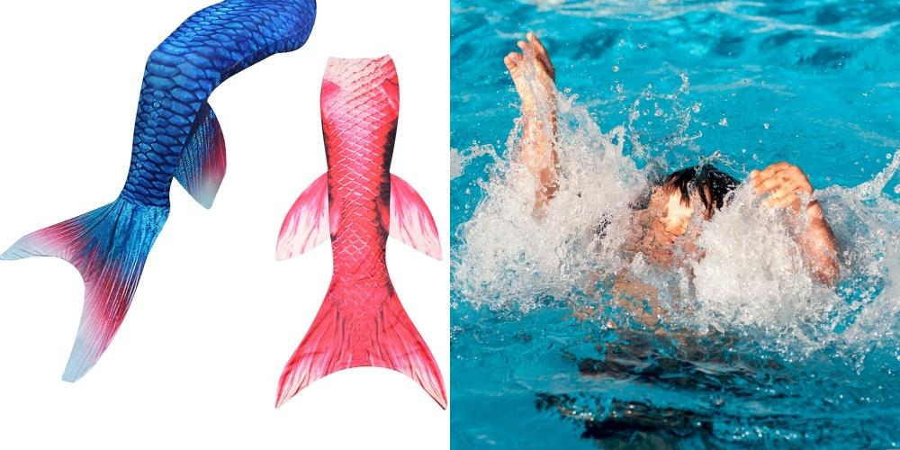 """อันตราย """"หางนางเงือก"""" ห้ามเด็กว่ายน้ำตามลำพัง แนะ 6 ข้อควรระวัง"""