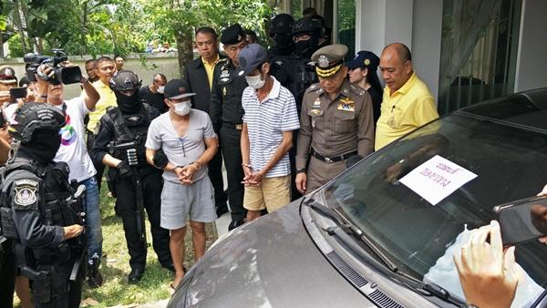 ตำรวจ ปส. จับแก๊งค้ายาเสพติดชาวไต้หวัน ใช้สเปรย์พ่นกันสุนัขดมกลิ่น